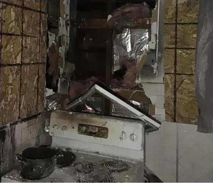 property damage from kitchen fire accident