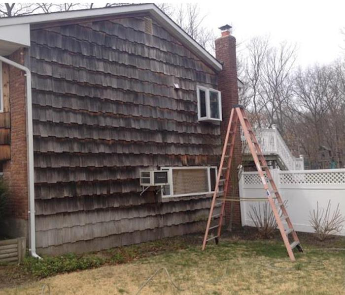 SERVPRO of Oakdale/North Bay Shore Power Washing Before