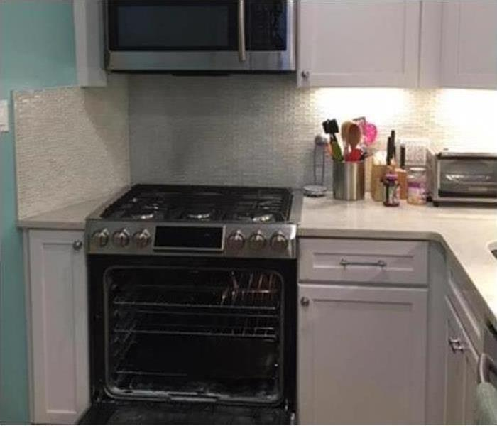 Kitchen fire damage restoration and reconstruction