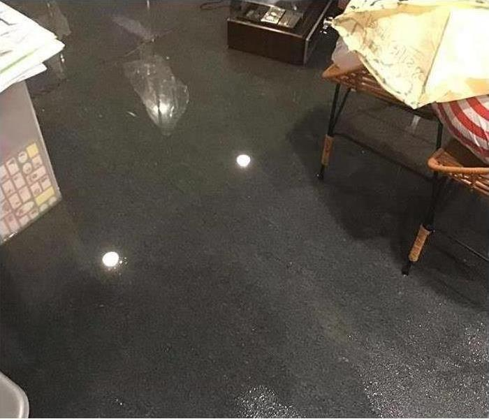 significant flooding in local basement