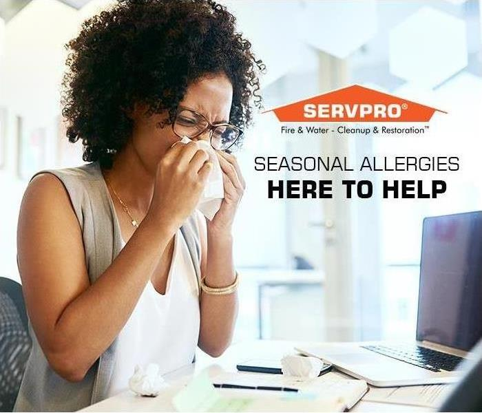 Commercial You can't control the increase of allergens in the spring air, but you can improve your indoor air quality.