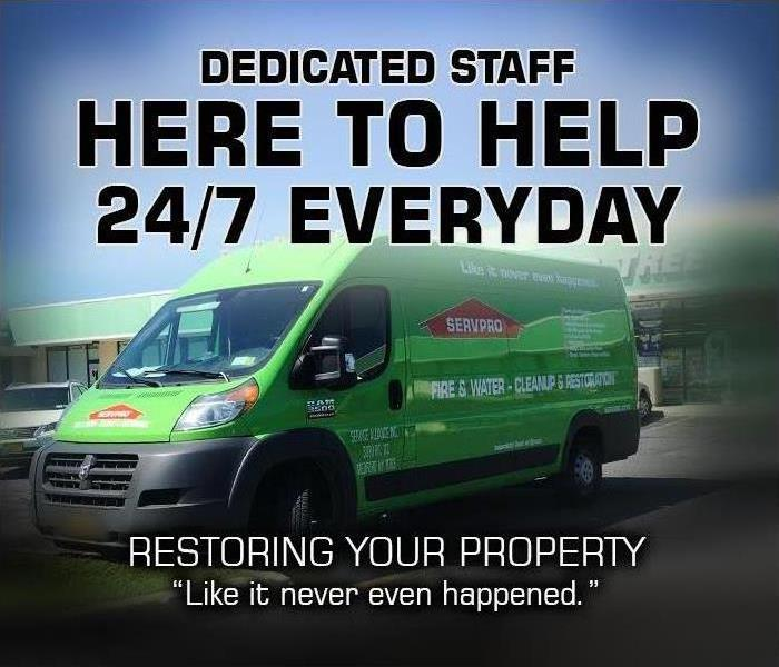 Why SERVPRO SERVPRO Is Always Open for Your Long Island Property Emergency